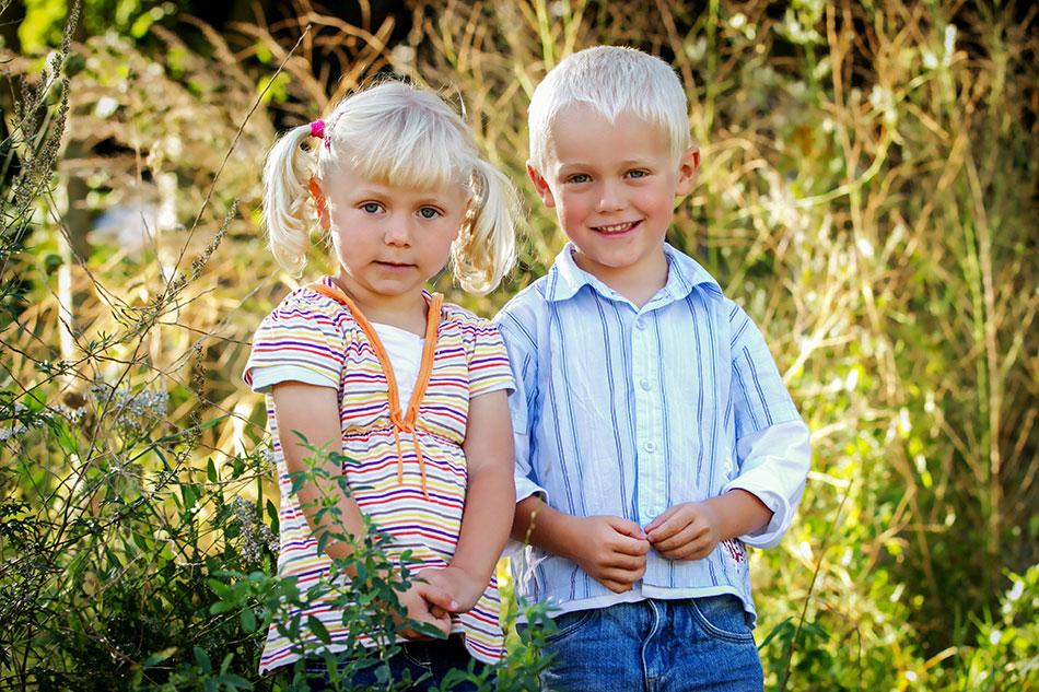 natürlich schöne Kindergartenfotografie